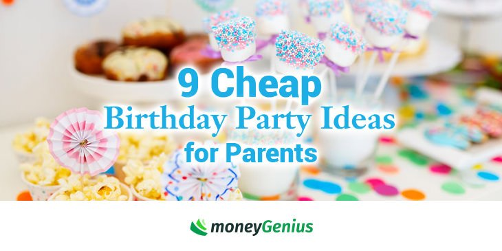 Cheap party ideas for food